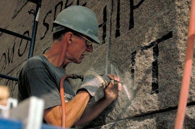 我們隊伍的專業 石碑 設計人員